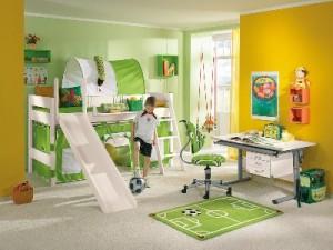 Zabavne otroške sobe